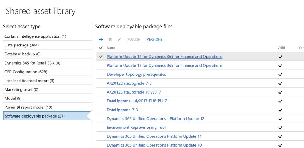 Upgrade to Platform Update 12 Operations