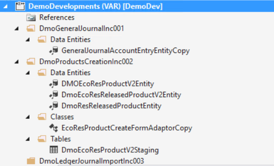 Visual Studio Projects In Dynamics 365 for Finance and