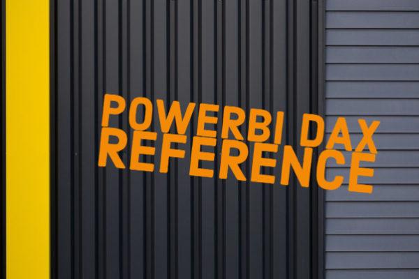 PowerBI DAX Reference