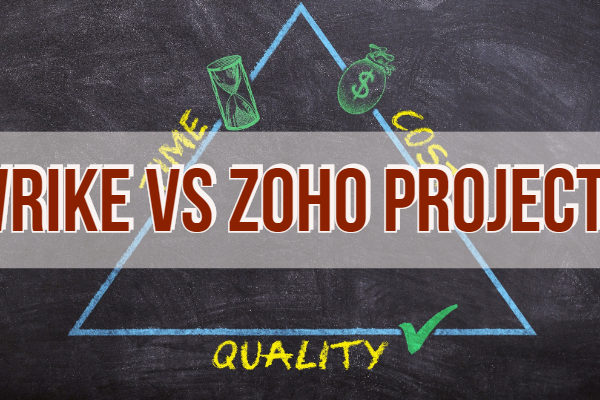 Wrike vs Zoho Projects