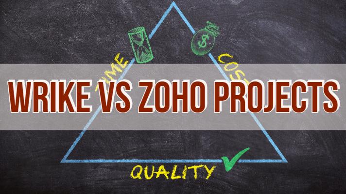 Wrike vs Zoho Projects
