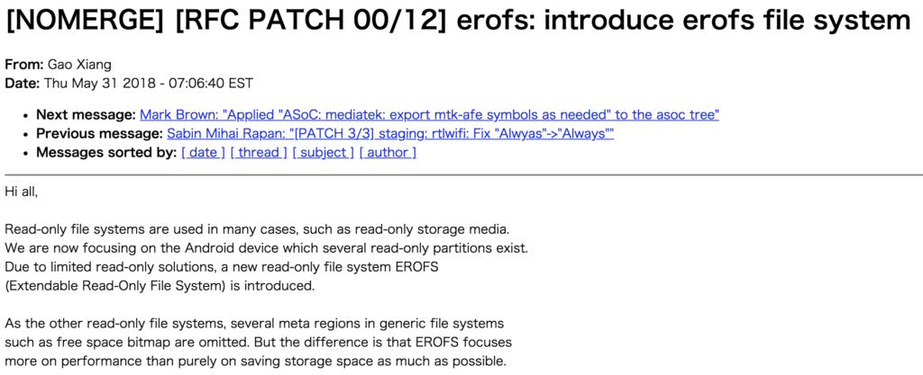 EROFS vs Squashfs - Whats the difference? File Systems
