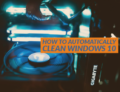 How to automatically clean Windows 10