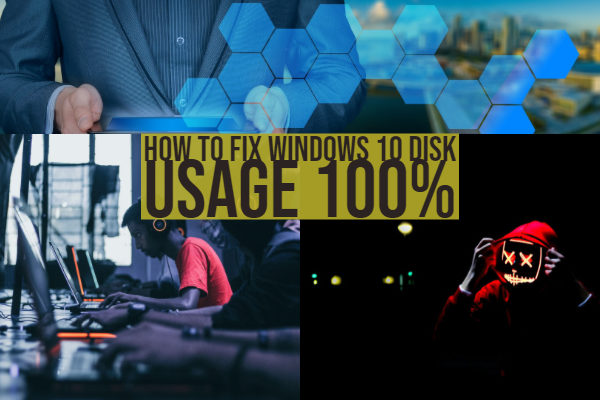 How to Fix Windows 10 disk usage 100%
