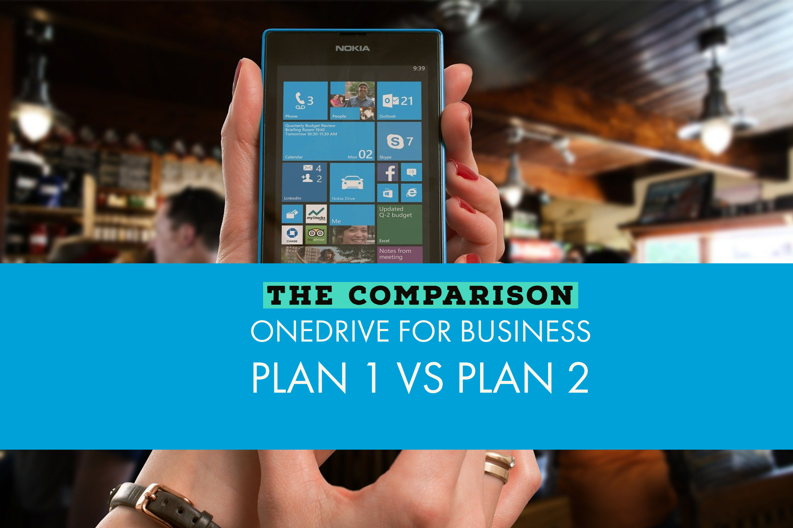 OneDrive for Business Plan 1 vs Plan 2