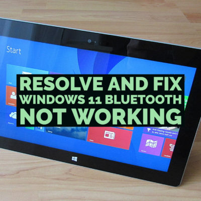 Resolve and Fix windows 11 Bluetooth not working